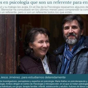 María Ibáñez y Jesús Jiménez